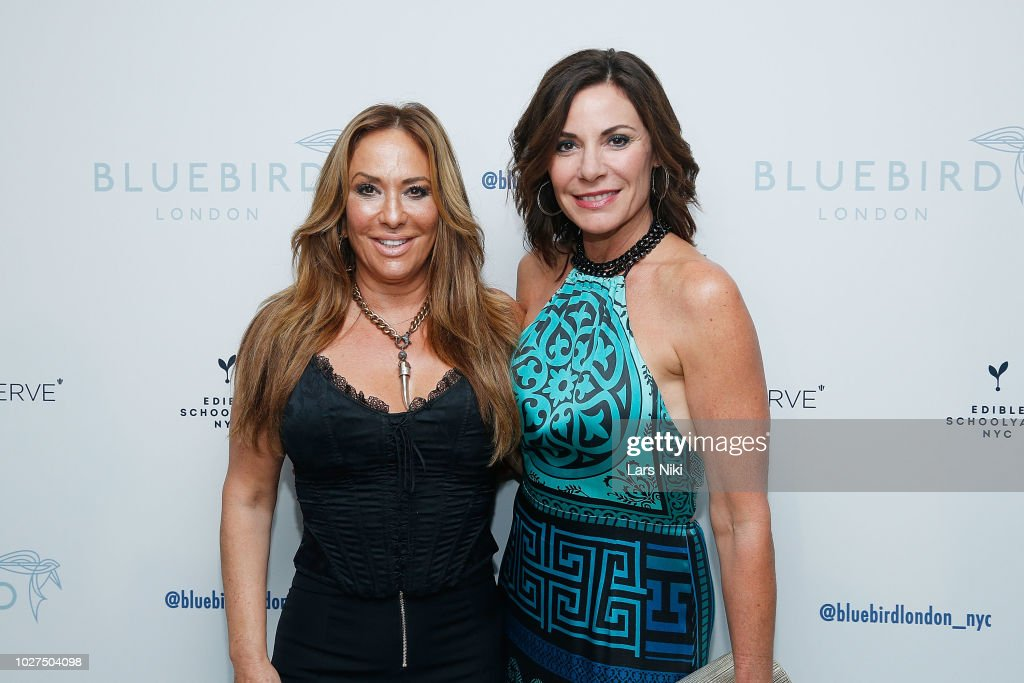 Barbara Kavovit and Luann de Lesseps attend the Bluebird London New York City launch party at Bluebird London on September 5, 2018 in New York City.