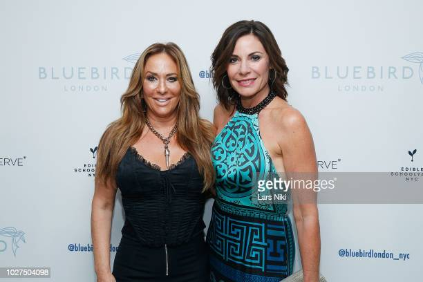 Barbara Kavovit and Luann de Lesseps attend the Bluebird London New York City launch party at Bluebird London on September 5 2018 in New York City
