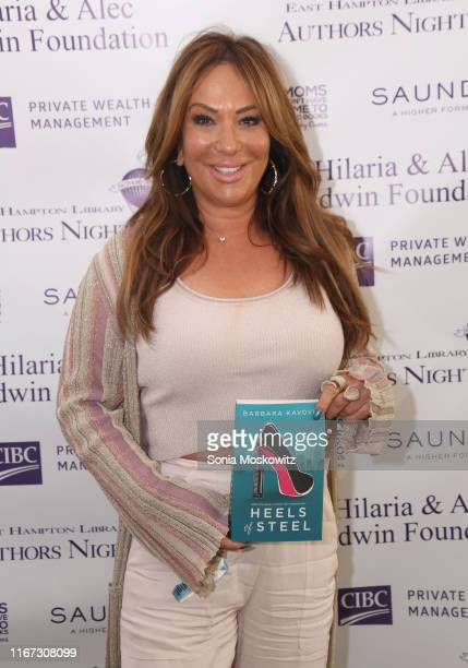 Barbara Kavovit at the East Hampton Library's 15th Annual Authors Night Benefit, on August 10, 2019 in Amagansett, New York.