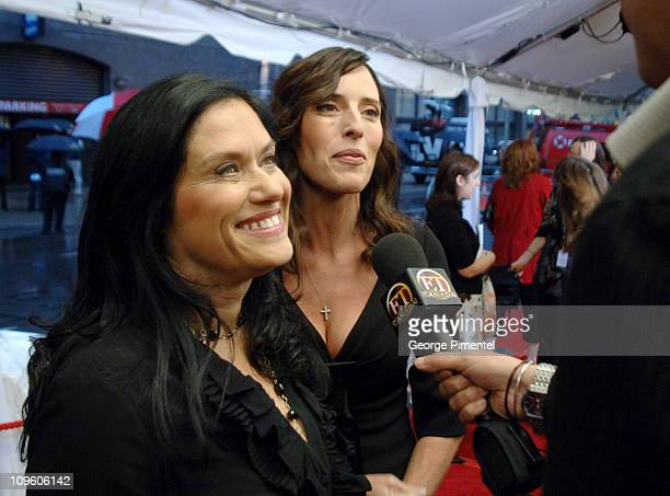 Barbara Kopple and Cecilia Peck during 31st Annual Toronto International Film Festival Dixie Chicks Shut Up Sing Premiere at Roy Thompson Hall in...