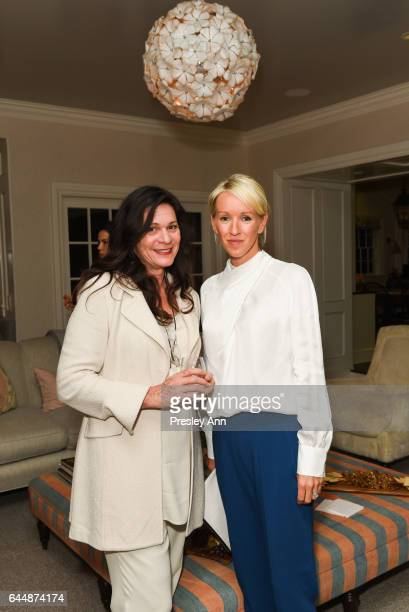 Barbara Kroff and Julia Corden attend Sound Breast Institute Reception Hosted by Embeth Davidtz on February 23 2017 in Los Angeles California