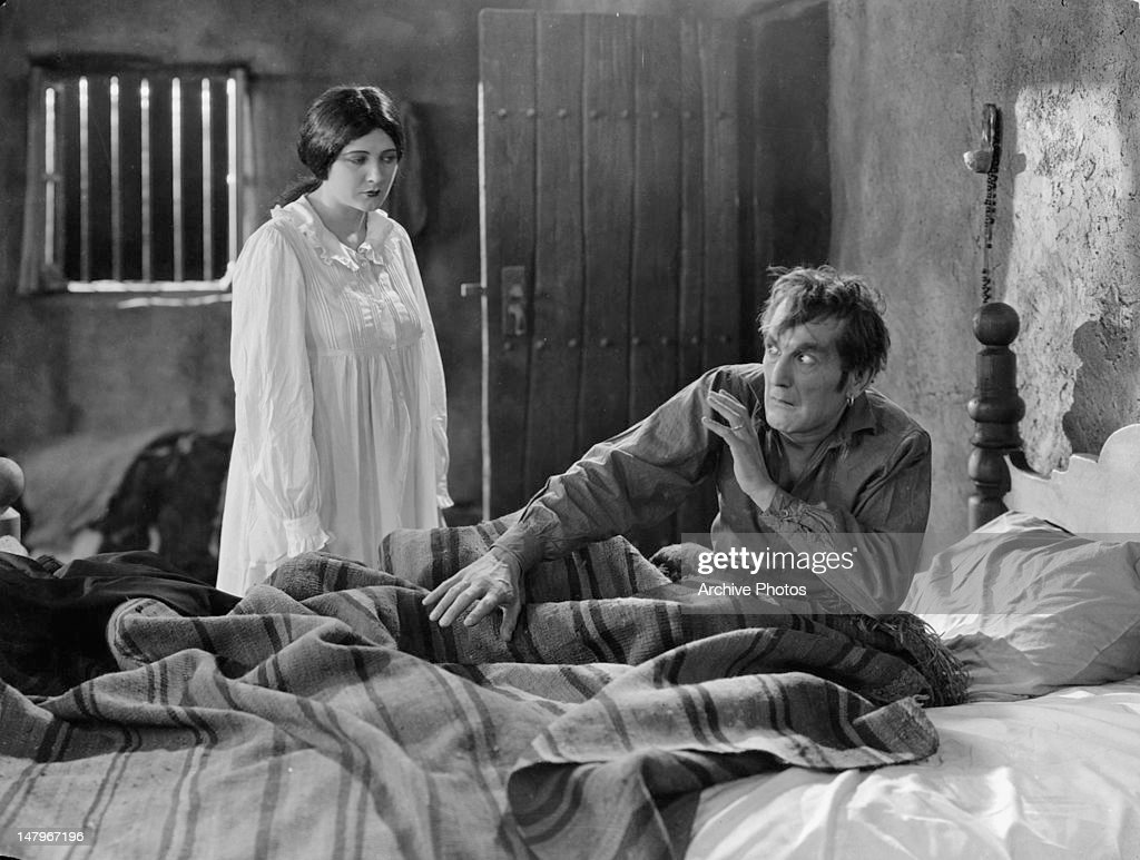 Barbara La Marr And William V Mong In 'Thy Name Is Woman' : News Photo