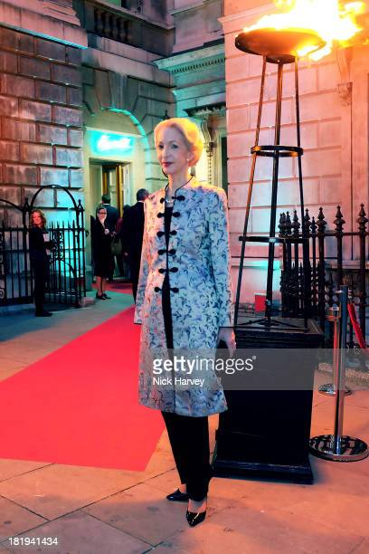 Barbara Lady Judge attends The Keeper's House Party at Royal Academy of Arts on September 26 2013 in London England