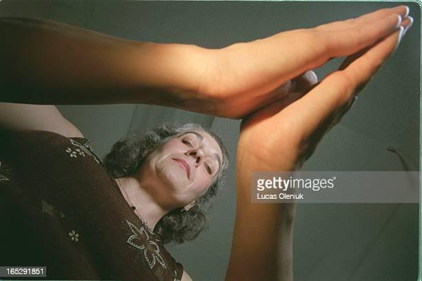 Barbara Lawren practices reiki in her Danforth studio