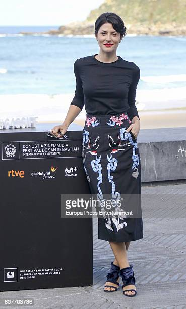 Barbara Lennie attends 'Maria ' photocall during 64th San Sebastian Film Festival on September 18 2016 in San Sebastian Spain