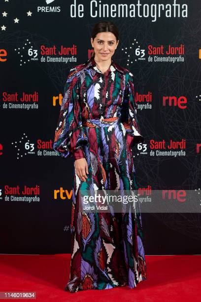 Barbara Lennie attends the 63rd Sant Jordi Cinematography Awards 2017 at CaixaForum Barcelona on April 29 2019 in Barcelona Spain