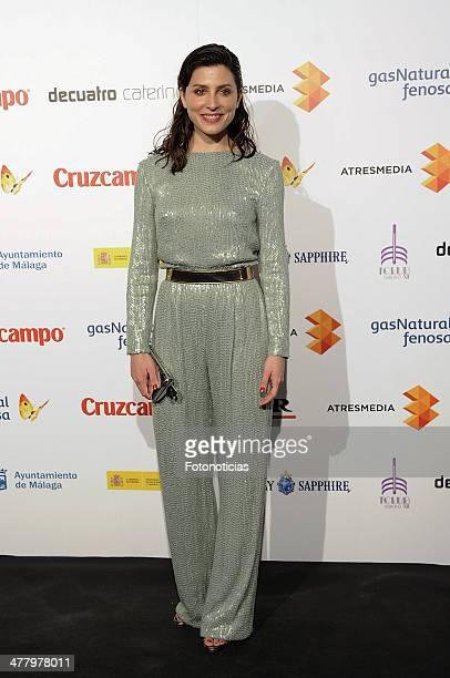 Barbara Lennie attends the Malaga Film Festival cocktail presentation at TClub on March 11 2014 in Madrid Spain