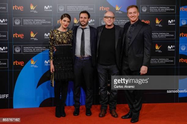 Barbara Lennie Diego Lerman Daniel Araoz and Claudio Tolcachir attends 'Una Especie de Familia' premiere during 65th San Sebastian Film Festival on...