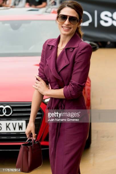 Barbara Lennie is seen arriving at 67th San Sebastian International Film Festival on September 19 2019 in San Sebastian Spain