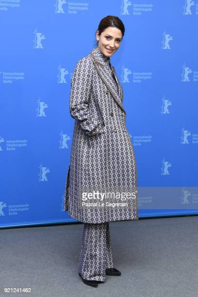 Barbara Lennie poses at the 'Sunday's Illness' photo call during the 68th Berlinale International Film Festival Berlin at Grand Hyatt Hotel on...