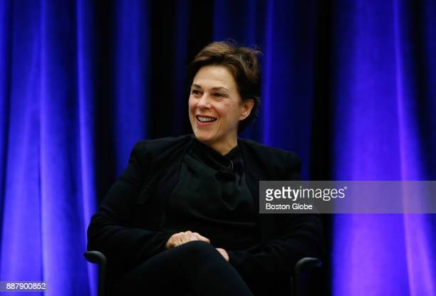 Barbara Lynch James Beard Foundation awardwinning Chef and restauranteur speaks on a panel at The Massachusetts Conference For Women at the Boston...