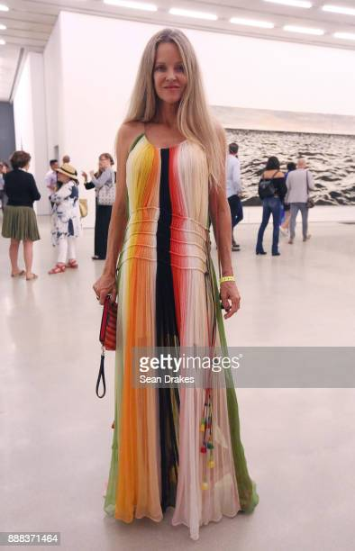 Barbara Lynch wears Chloe to PAMM Presents during Art Basel Miami Beach on December 07 2017 in Miami United States