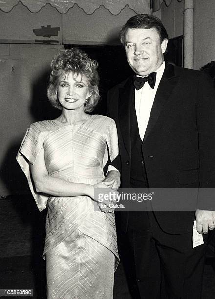 Barbara Mandrell and Ken Dudney during 14th Annual American Music Awards at Shrine Auditorium in Los Angeles CA United States