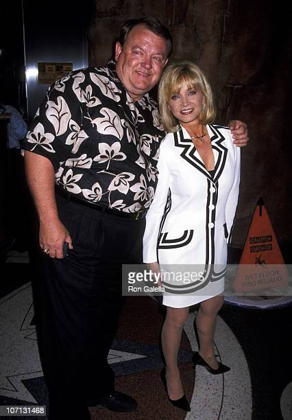 Barbara Mandrell and Ken Dudney during 33rd Annual Country Music Awards Artists Reception at Country Star Restaurant in Los Angeles California United...