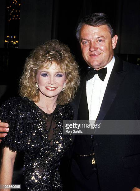 Barbara Mandrell and Ken Dudney during Patricia Neal Rehabilitation Centers 10th Anniversary Benefit at Waldorf Hotel in New York City NY United...