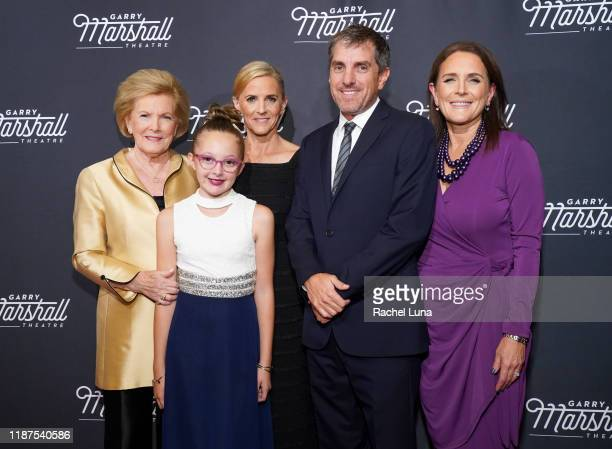 Barbara Marshall Sienna LaGambini Kathleen Marshall Scott Marshall and Lori Marshall attend Garry Marshall Theatre's 3rd Annual Founder's Gala...