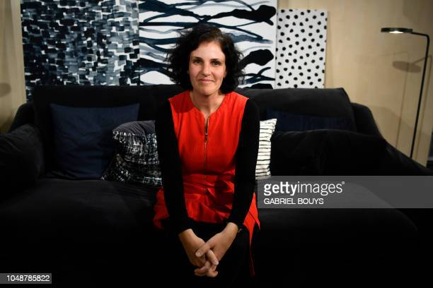 Barbara Martin Coppola Ikea Chief Digital Officer attends a press conference announcing IKEA's worldwide results on October 10 2018 in Madrid