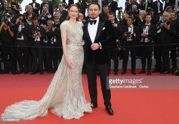 Barbara Meier and Klemens Hallmann attend the opening ceremony and screening of The Dead Don't Die during the 72nd annual Cannes Film Festival on May...