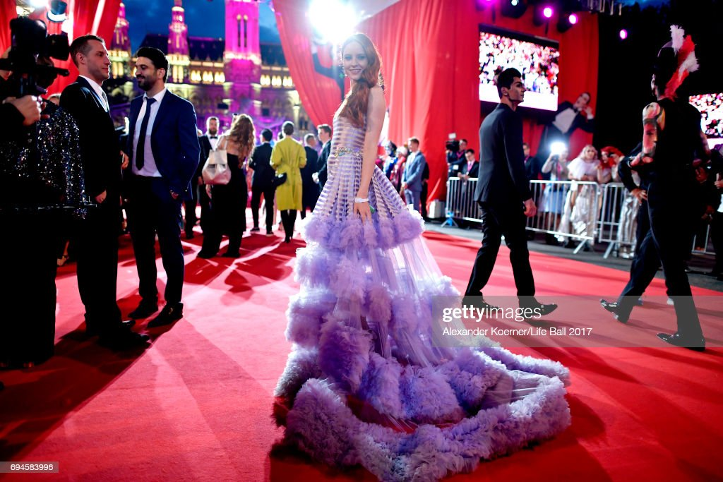 Red Carpet Arrivals - Life Ball 2017