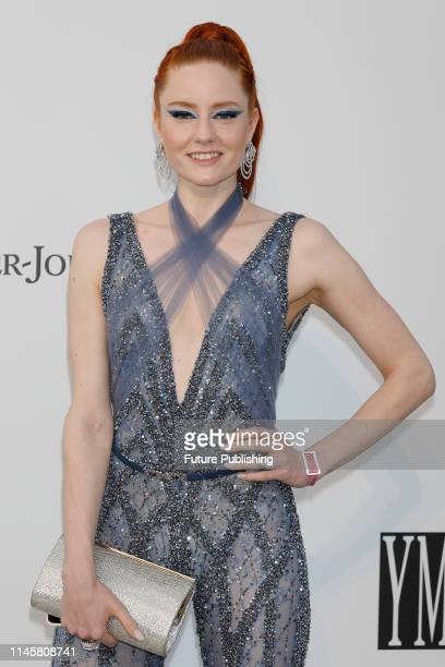 Barbara Meier at the amfAR Cannes Gala 2019 at Hotel du CapEdenRoc on May 23 2019 in Cap d'Antibes France