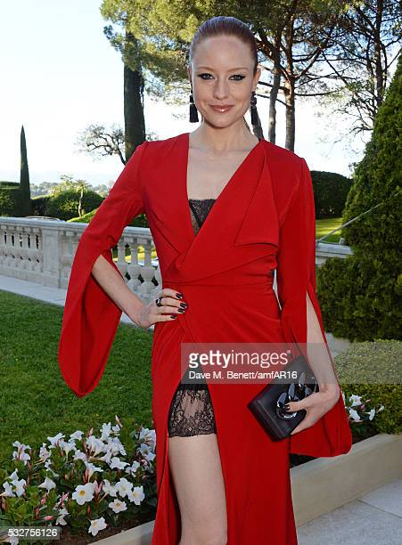 Barbara Meier attends amfAR's 23rd Cinema Against AIDS Gala at Hotel du CapEdenRoc on May 19 2016 in Cap d'Antibes France