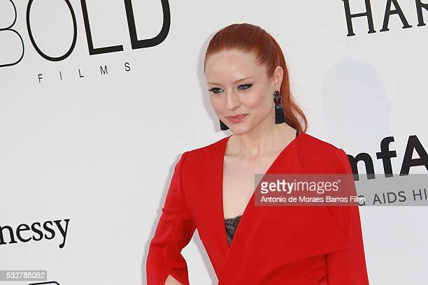 Barbara Meier attends amfAR's 23rd Cinema Against AIDS Gala during The 69th Annual Cannes Film Festival on May 19 2016 in Cap d'Antibes France