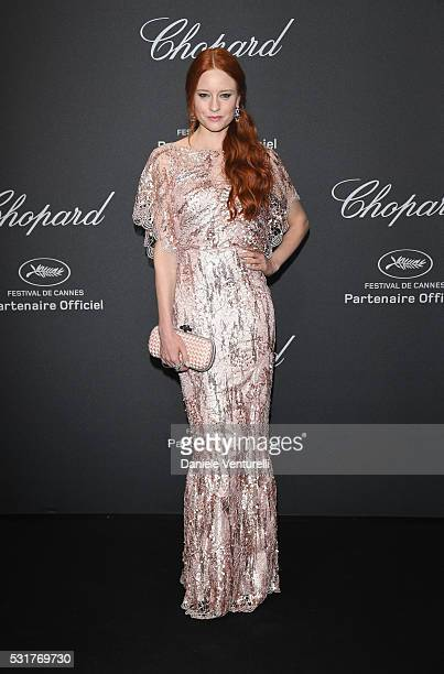 Barbara Meier attends Chopard Wild Party as part of The 69th Annual Cannes Film Festival at Port Canto on May 16 2016 in Cannes France