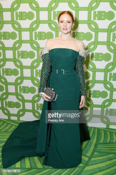 Barbara Meier attends HBO's Official Golden Globe Awards After Party at Circa 55 Restaurant on January 6 2019 in Los Angeles California