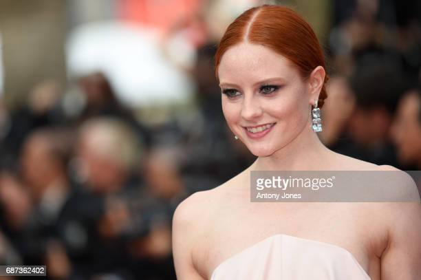 Barbara Meier attends the 70th Anniversary of the 70th annual Cannes Film Festival at Palais des Festivals on May 23 2017 in Cannes France
