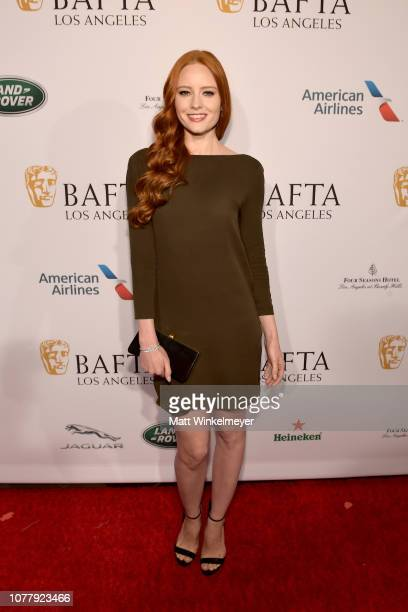 Barbara Meier attends The BAFTA Los Angeles Tea Party at Four Seasons Hotel Los Angeles at Beverly Hills on January 5, 2019 in Los Angeles,...