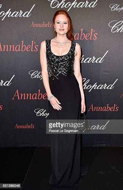 Barbara Meier attends the Chopard Gent's Party at Annabel's in Cannes during the 69th Cannes Film Festival on May 14 2016 in Cannes France