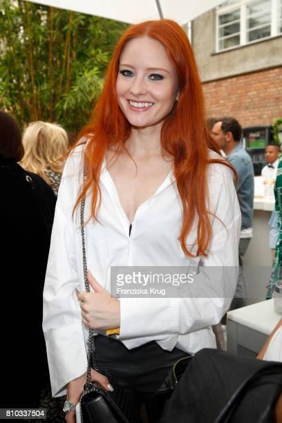 Barbara Meier attends the Gala Fashion Brunch during the MercedesBenz Fashion Week Berlin Spring/Summer 2018 at Ellington Hotel on July 7 2017 in...