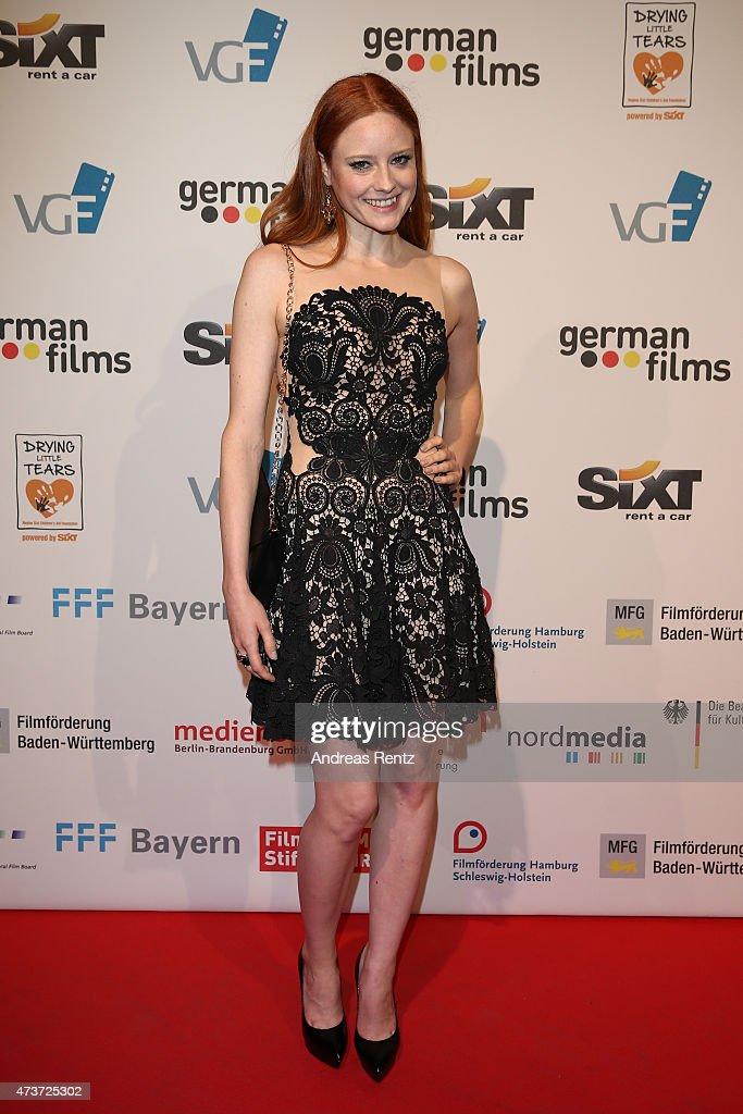German Films Reception At La Plage Majestic  - The 68th Annual Cannes Film Festival : Nachrichtenfoto