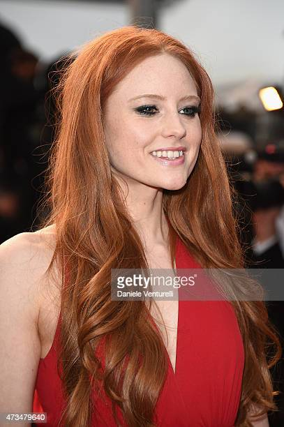 Barbara Meier attends the 'Irrational Man' Premiere during the 68th annual Cannes Film Festival on May 15 2015 in Cannes France