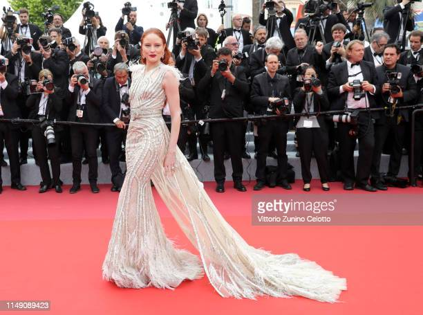 Barbara Meier attends the opening ceremony and screening of The Dead Don't Die during the 72nd annual Cannes Film Festival on May 14 2019 in Cannes...