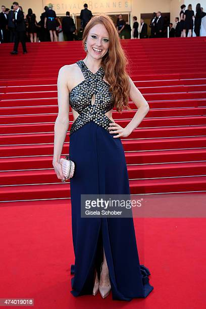 Barbara Meier attends the Premiere of 'Inside Out' during the 68th annual Cannes Film Festival on May 18 2015 in Cannes France