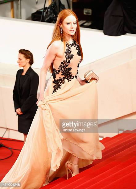 Barbara Meier attends the Premiere of 'Marguerite And Julien' during the 68th annual Cannes Film Festival on May 19 2015 in Cannes France