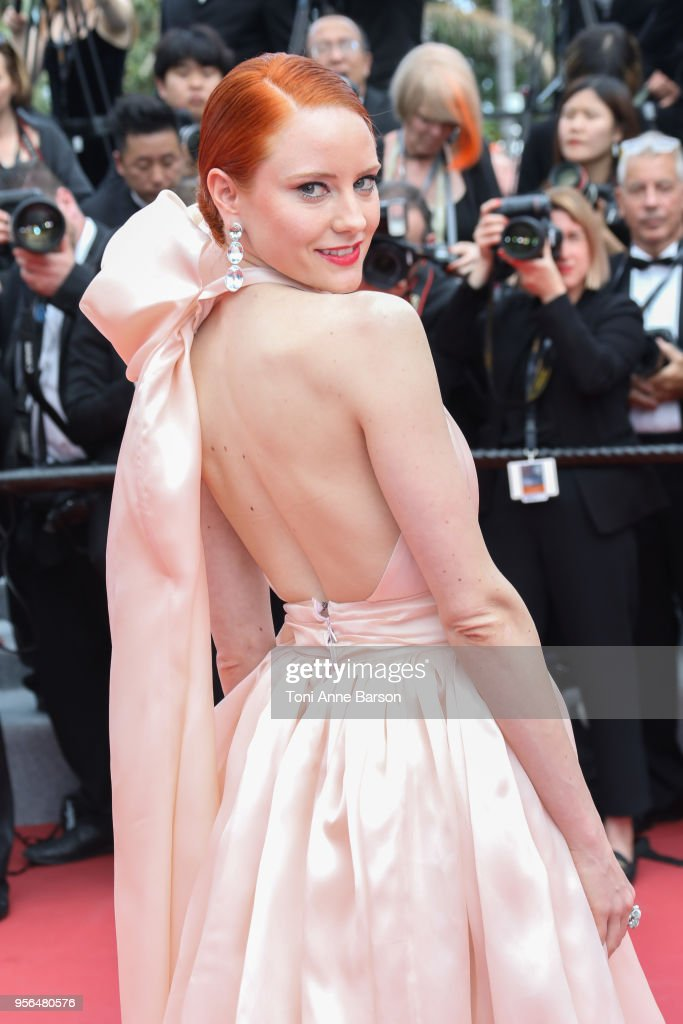 Barbara Meier attends the screening of 'Everybody Knows (Todos Lo Saben)' and the opening gala during the 71st annual Cannes Film Festival at Palais des Festivals on May 8, 2018 in Cannes, France.