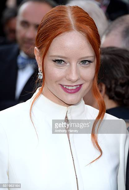 Barbara Meier attends the screening of 'Julieta' at the annual 69th Cannes Film Festival at Palais des Festivals on May 17 2016 in Cannes France