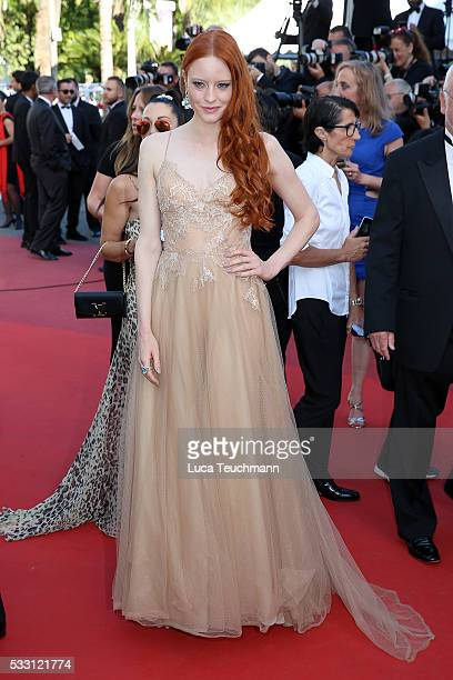 Barbara Meier attends the screening of 'The Last Face' at the annual 69th Cannes Film Festival at Palais des Festivals on May 20 2016 in Cannes France