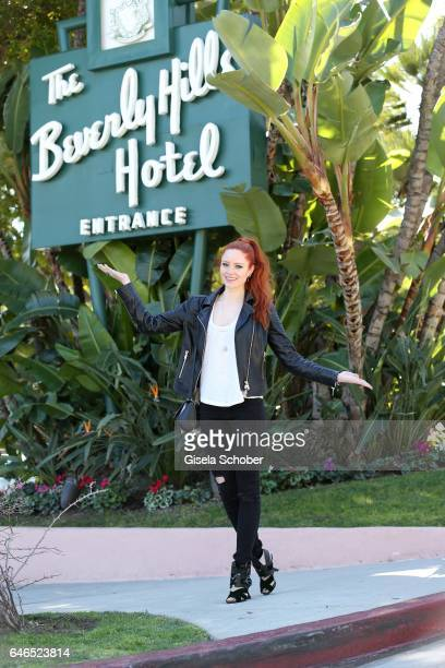 Barbara Meier during a photo session on February 28 2017 in Los Angeles California