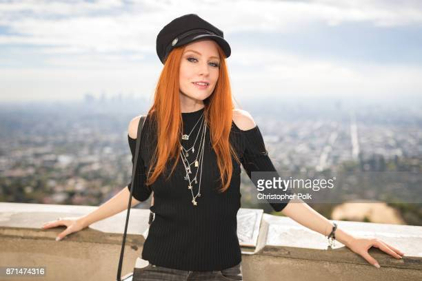 Barbara Meier during a Shooting Of The Documentary Movie 'Deals and Vision' With Barbara Meier In Los Angeles on November 7, 2017 in Los Angeles,...