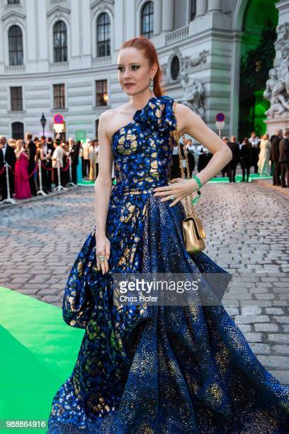 Barbara Meier during the Fete Imperiale 2018 on June 29 2018 in Vienna Austria