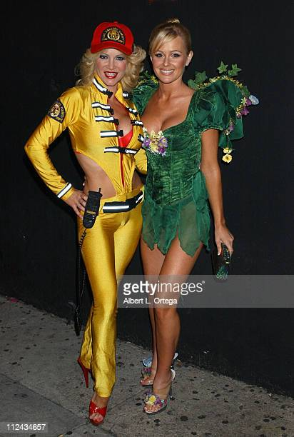 Barbara Moore and Katie Lohmann during 'Halloween Night Jitters' Presented by Baron Entertainment at The Viper Room in West Hollywood California...