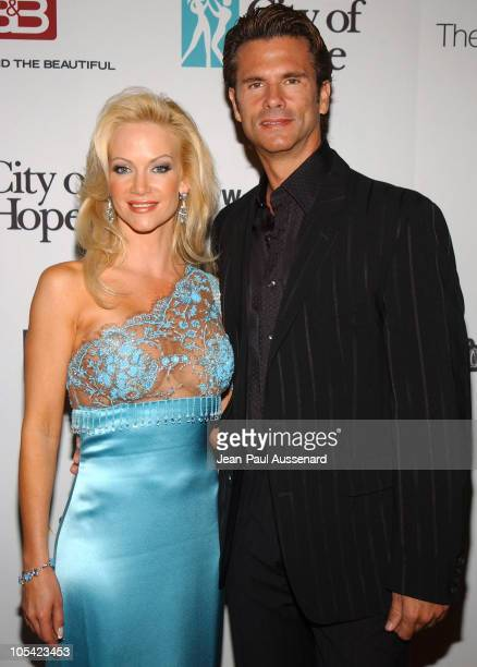 Barbara Moore and Lorenzo Lamas during City of Hope 2005 Award of Hope Gala - Arrivals at Beverly Hilton Hotel in Beverly Hills, California, United...