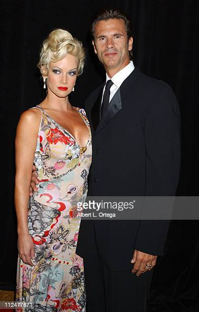 Barbara Moore and Lorenzo Lamas during The 2004 19th Annual Imagen Awards Gala at The Regent Beverly Wilshire Hotel in Beverly Hills CA United States