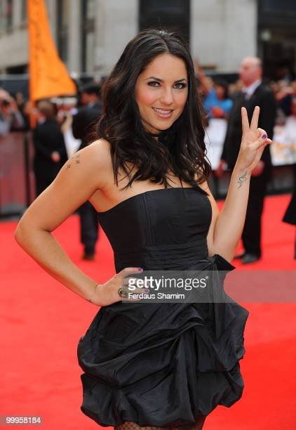 Barbara Mori attends the European Premiere of 'Kites' at Odeon West End on May 18 2010 in London England
