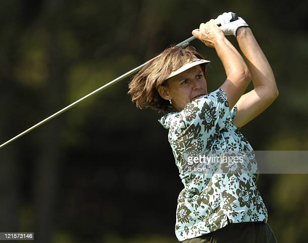 Barbara Mucha during the second round of the Jamie Farr Owens Corning Classic at Highland Meadows Golf Club in Sylvania Ohio on July 14 2006