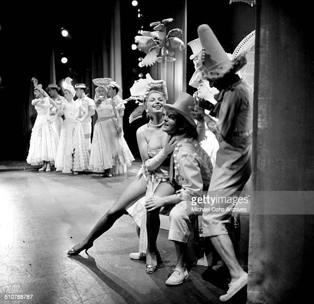 Barbara Nichols on stage in Los AngelesCA