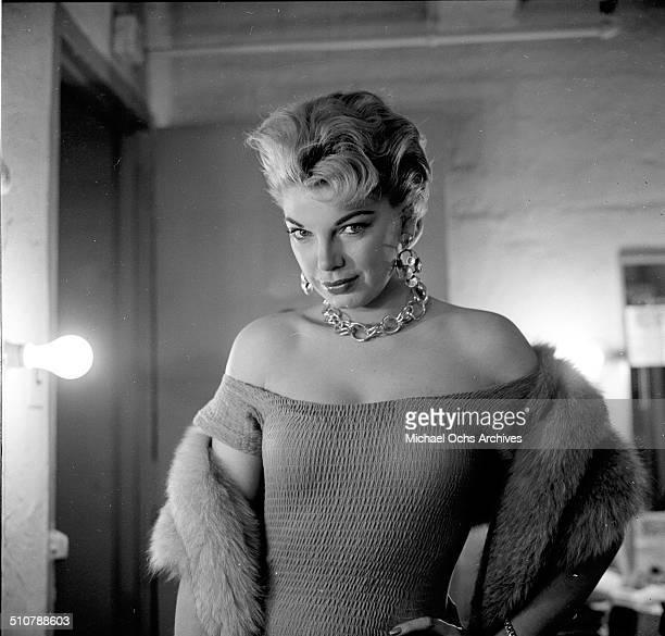 Barbara Nichols poses for a portrait in Los AngelesCA